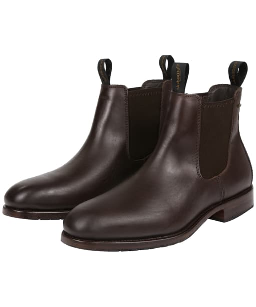 Men's Dubarry Kerry Leather Boots - Mahogany