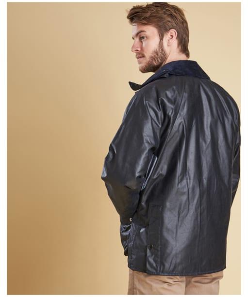 Men's Barbour Bedale Jacket - Navy