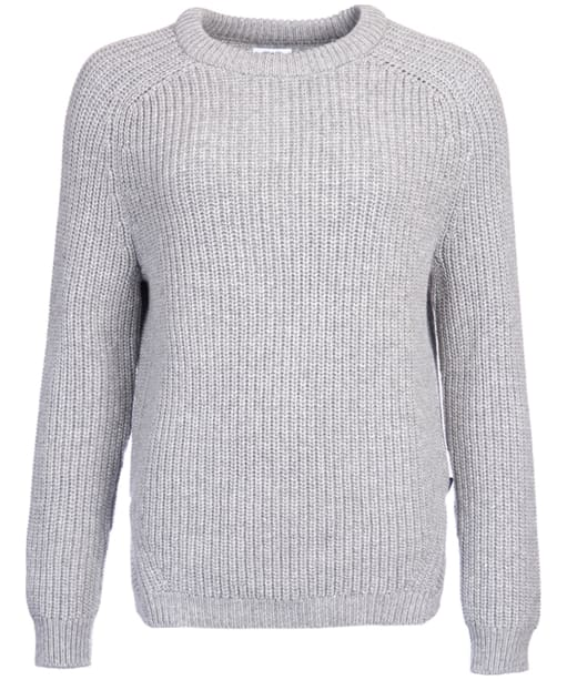Women's Barbour Tynemouth Crew Neck Sweater - Grey Marl