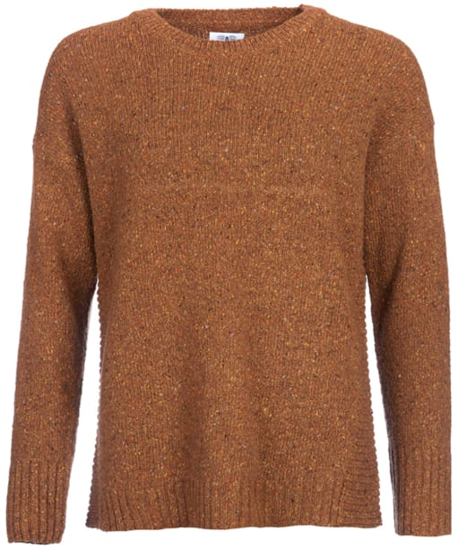 Women's Barbour Cloudly Neck Sweater - Harvest Gold
