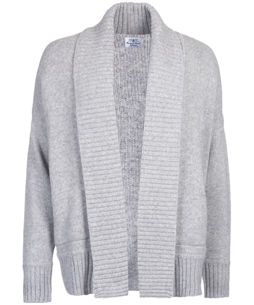 Women's Barbour Avalanch Oversized Cardigan - Grey Marl