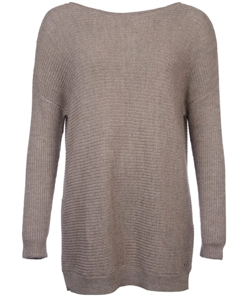 Women's Barbour International Tappet Knit Sweater - Taupe