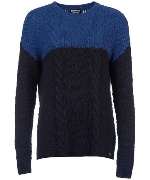 Women's Barbour International Visor Knit - Black / Blue