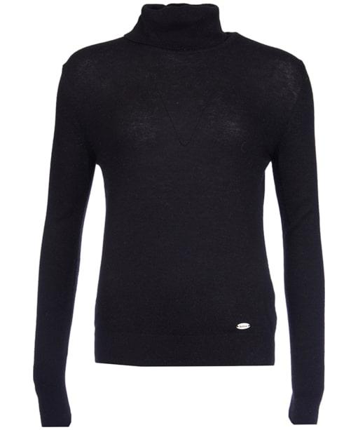 Women's Barbour Faray Roll Neck Sweater  - Black