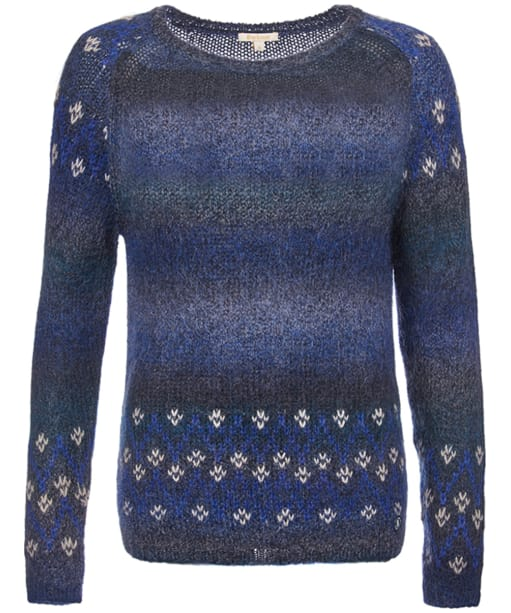 Women's Barbour Icefield Knit Sweater - Navy
