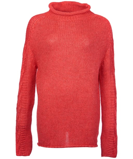 Women's Barbour Melilot Knit - Rich Coral