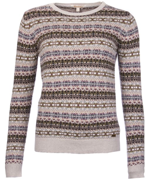 Women's Barbour Mallow Knit Sweater - Ecru