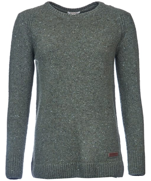 Women's Barbour Aster Knit Sweater - Olive