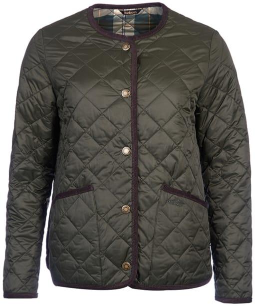 Women's Barbour  Oversized Liddesdale Jacket - Sage