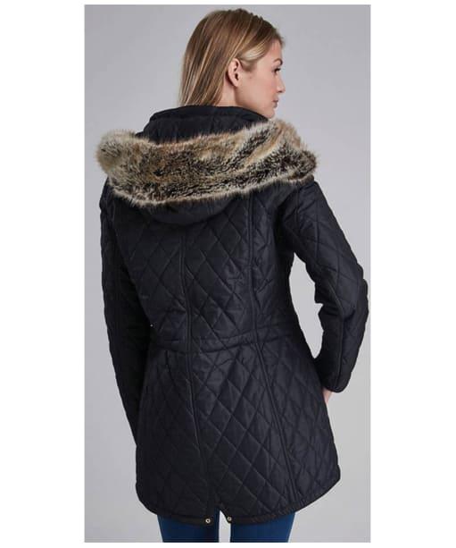 Women's Barbour International Enduro Quilt - Black
