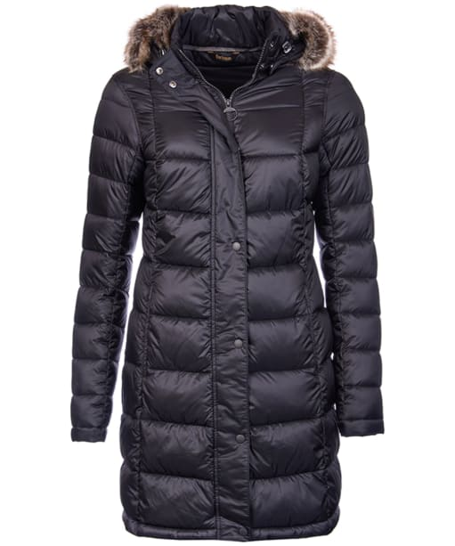 Women's Barbour Haven Quilted Jacket - Black