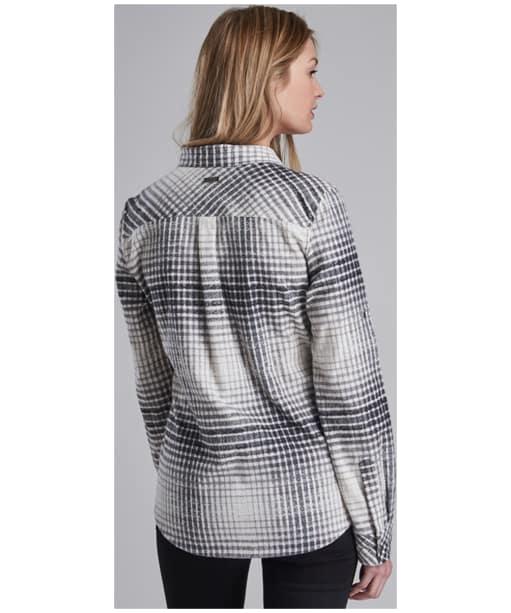 Women's Barbour International Turini Shirt - Black Check