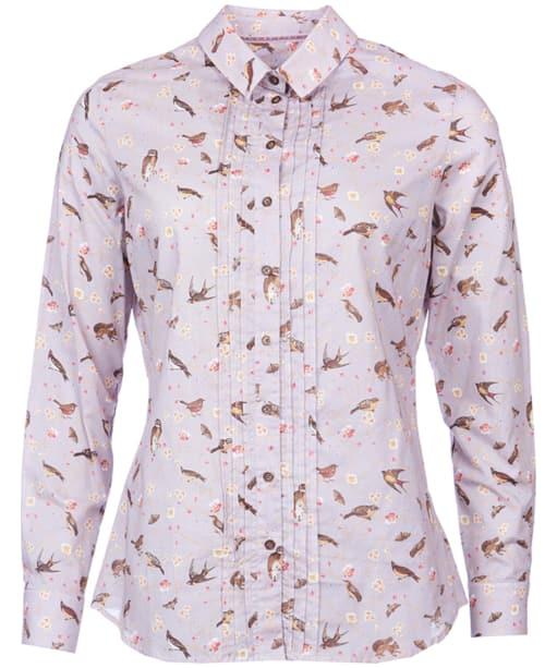 Women's Barbour Rivington Shirt - Soft Pink Print