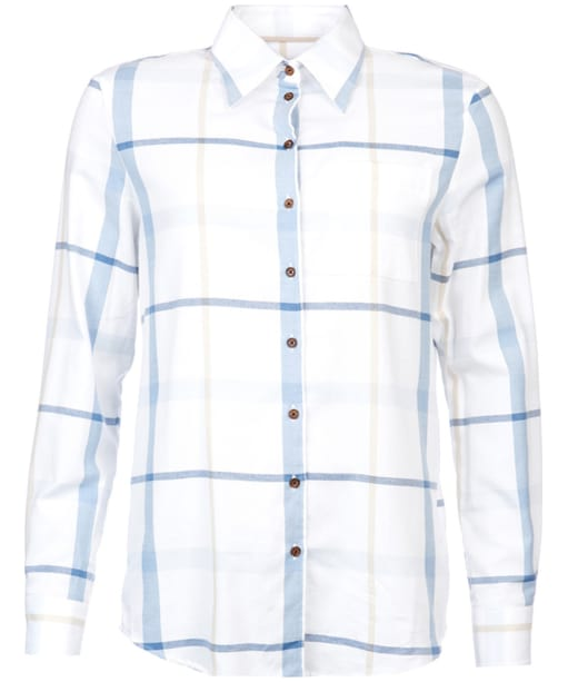 Women's Barbour Oxer Shirt - Blue Check