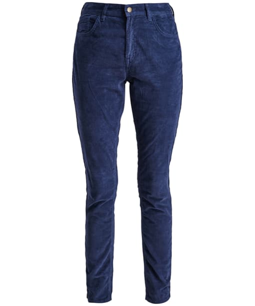 Women's Barbour Aster Trousers - Navy