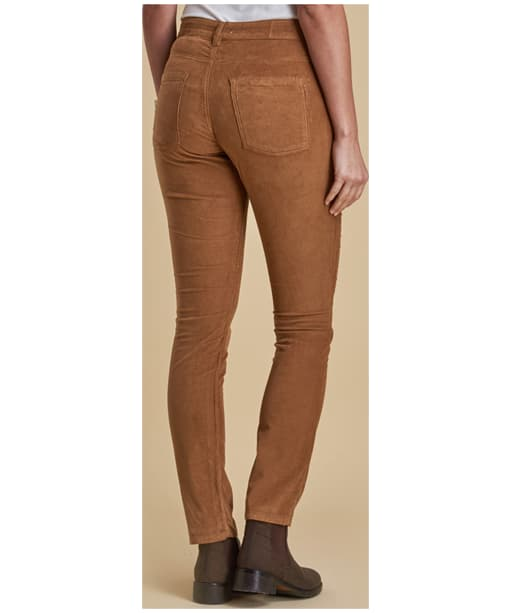 Women's Barbour Aster Trousers - Stone