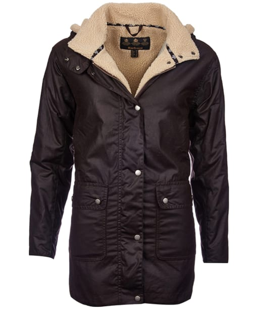 Women's Barbour Aletsch Waxed Jacket - Rustic