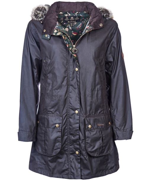 Women's Barbour Rombalds Wax Jacket - Rustic