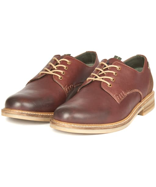 Men's Barbour Bramley Derby Shoes - Dark Brown