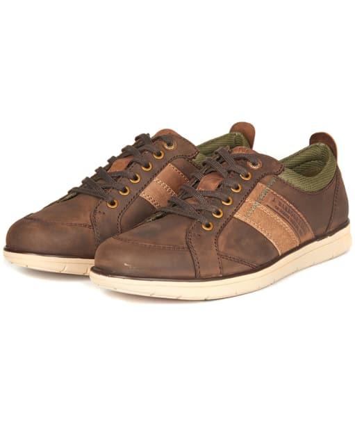 Men's Barbour Finn Casual Shoes - Truffle