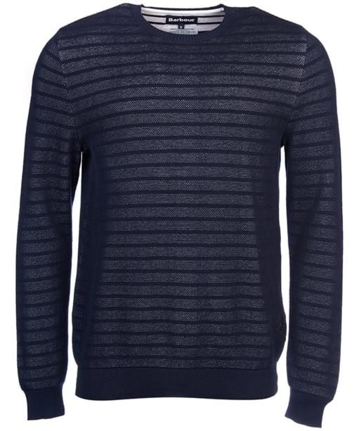 Men's Barbour Tyde Crew Neck Sweater - Navy