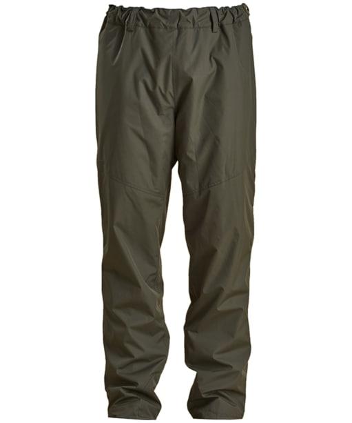 Men's Barbour Dunnock Waterproof Trousers - Forest