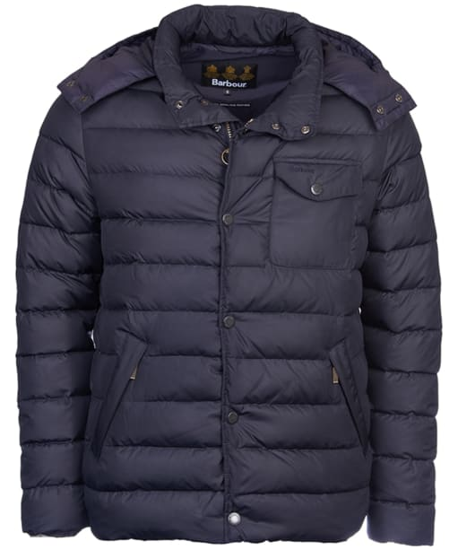 Men's Barbour Cowl Quilted Jacket - Navy