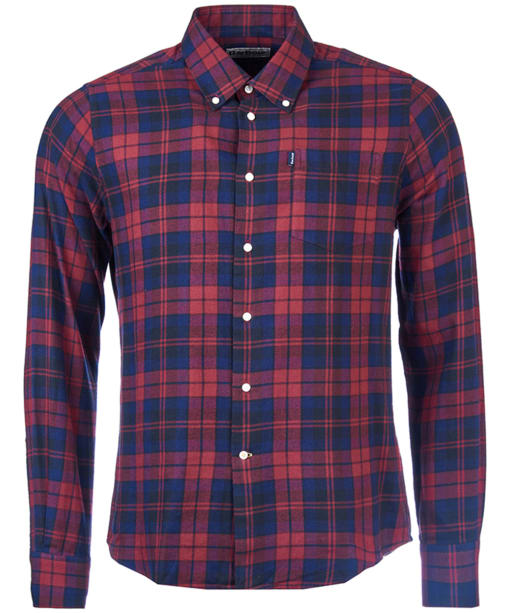 Men's Barbour Seth Tailored Shirt - Rich Red Check
