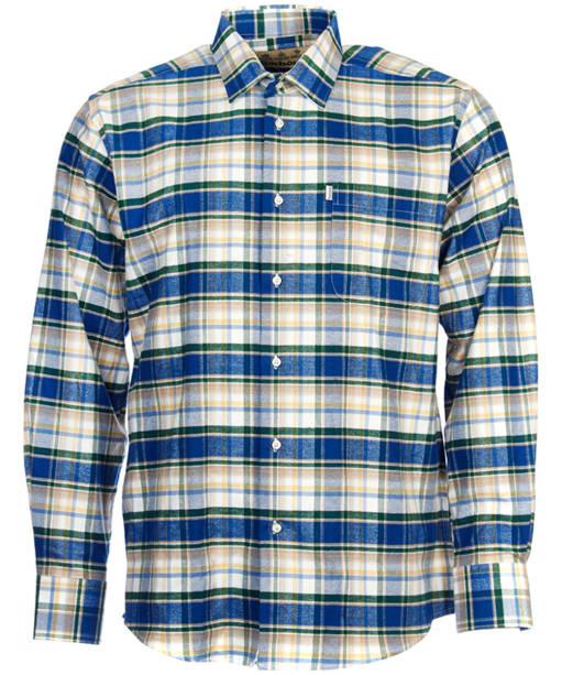 Men's Barbour Roe Shirt - Blue Check