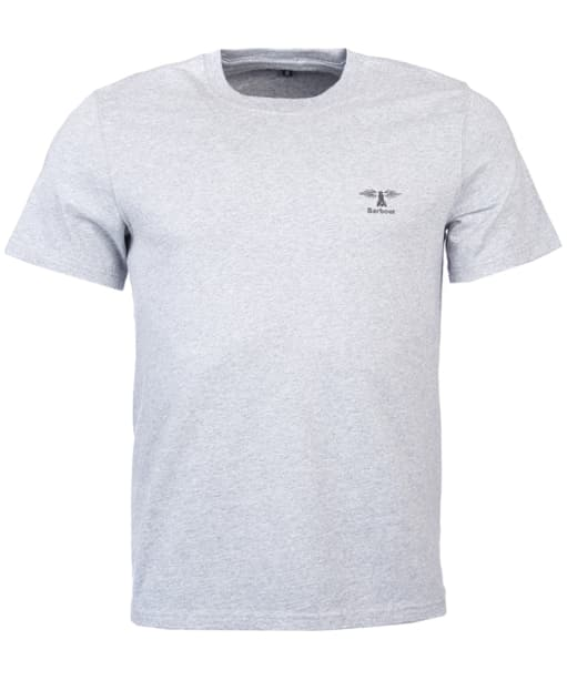 Men's Barbour Standards Tee - Grey Marl