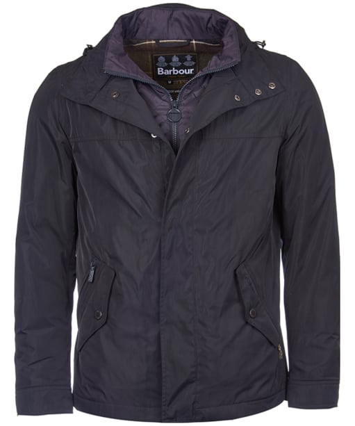 Men's Barbour Tulloch Jacket - Navy