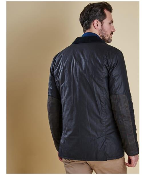 Men's Barbour Carrbridge Wax Jacket - Navy