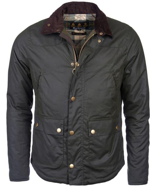 Men's Barbour Reelin Wax Jacket - Sage