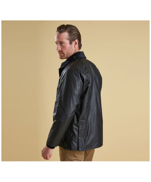 Men's Barbour Bedale Jacket - Black