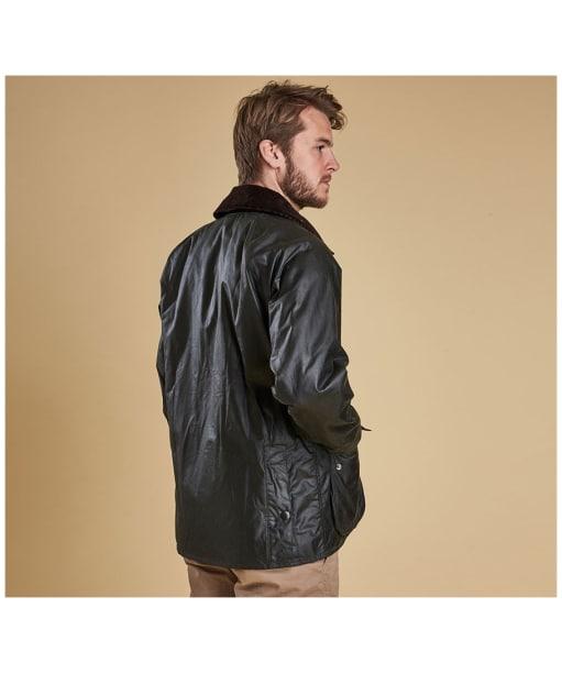 Men's Barbour Bedale Jacket - Sage