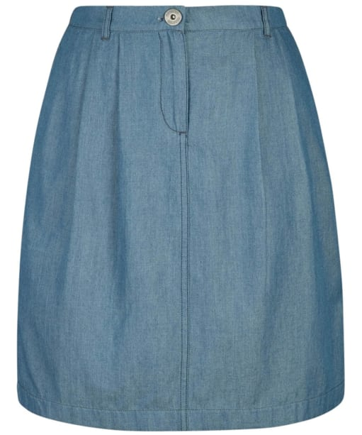 Women's Seasalt Riffler Skirt - Indigo Light Wash