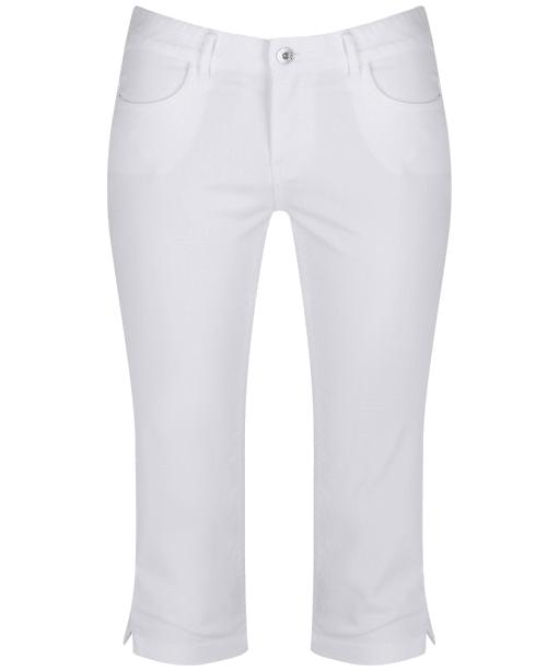Women's Musto Elisa Capri Trousers - Bright White