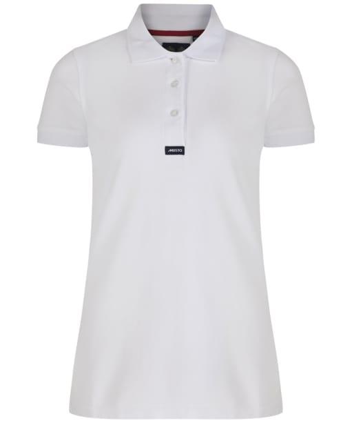 Women's Musto Pique Polo Shirt - White