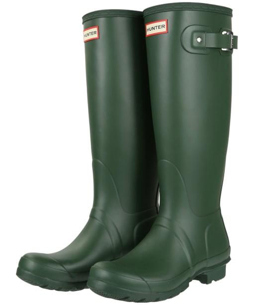 Women's Hunter Original Tall Wellington Boots - Green