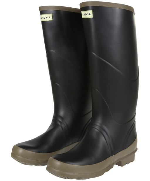 Hunter Bullseye Full Knee Wellington Boots - Black