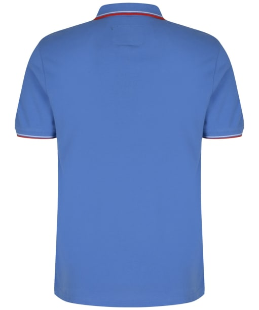 Men's Musto Miles Tipped Polo Shirt - Regatta Blue