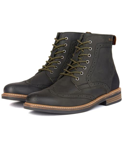 Men's Barbour Belsay Boots - Black