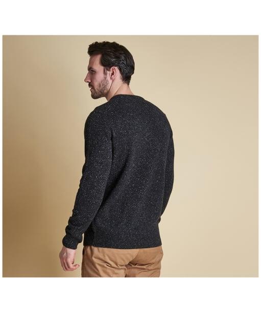 Men's Barbour Tisbury Crew Neck Sweater - Black