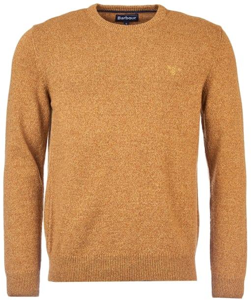 Men's Barbour Tisbury Crew Neck Sweater - Copper