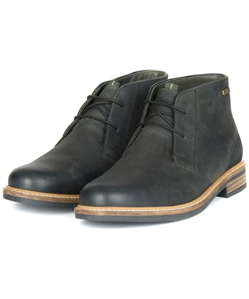 Men's Barbour Readhead Chukka Boots - Black