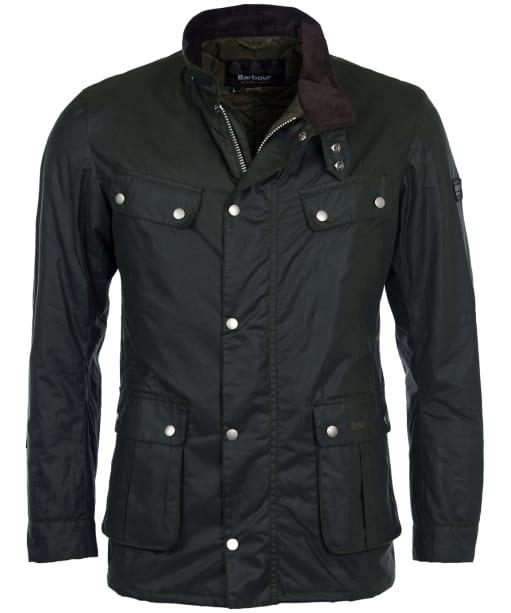 Men's Barbour International Duke Wax Jacket - Sage