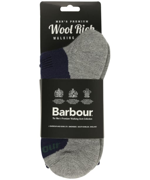 Men's Barbour Cragg Boot Socks - Navy Mix