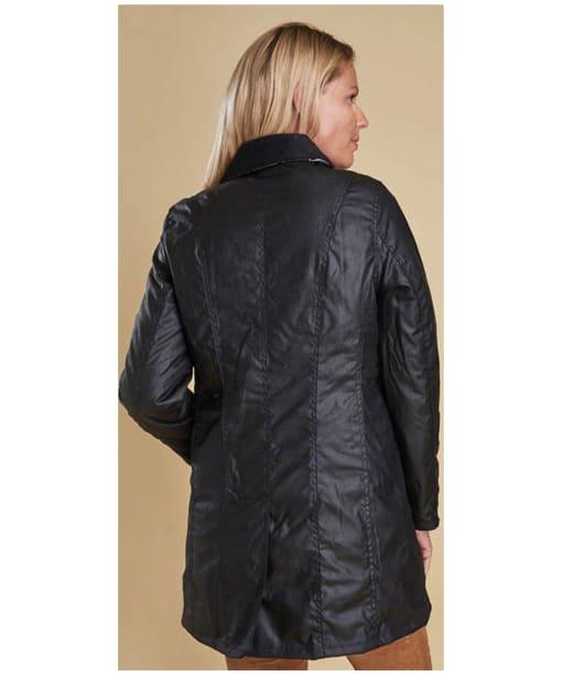 Women's Barbour Belsay Wax Jacket - Black