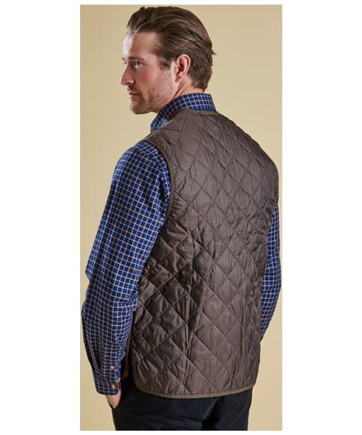 Men's Barbour Quilted Waistcoat / Zip-in Liner - Rustic