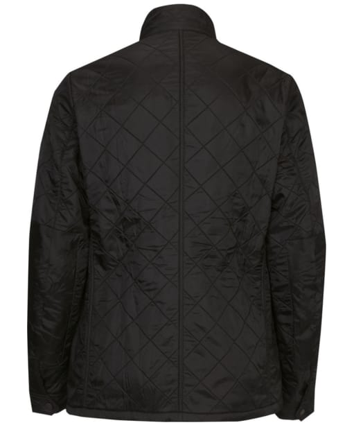 Men's Barbour International Ariel Polarquilt Jacket - Black
